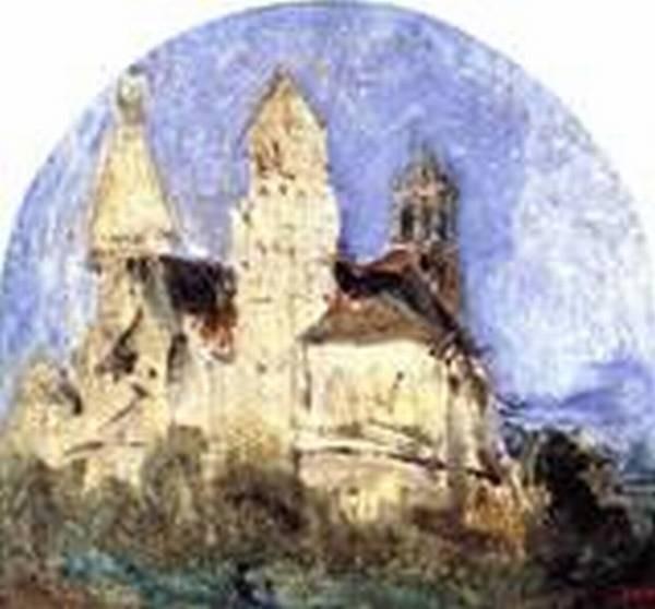 The Church of Saint Lou dEsserant in the Oise 1828 1832